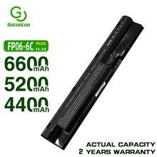 Golooloo bateria do HP COMPAQ ProBook 440 445 450 470 455 G0 G1 G2 Series 707617 421 708457 001 708458 001 FP06 FP06XL FP09