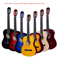 39 Inch Classical Guitar Light Picea Asperata Guitar Beginner Class Guitar Acoustic Guitar AGT157