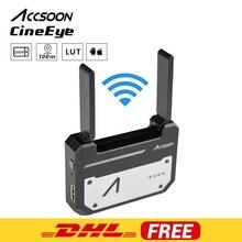 В наличии Accsoon CineEye 5G беспроводной 1080p WiFi HDMI передатчик передача изображения на 4 устройства для Android IOS Garyscale RGB