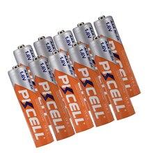Bateria recarregável nizn da bateria recarregável do ni zn aaa do níquel zinco de pkcell 1.6v 900mwh de 10 pces para a câmera digital, lanterna elétrica, brinquedo