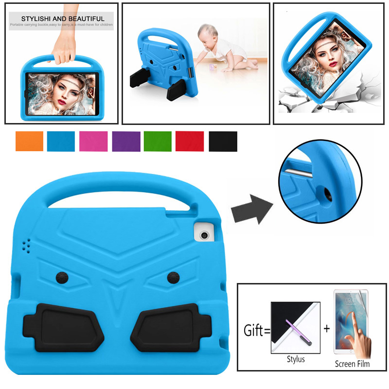 Soft Shockproof <font><b>Case</b></font> Kids Silicon Protective Cover for <font><b>Samsung</b></font> Tab A 10.1inch 2019 SM-T515 <font><b>T510</b></font> T515 Children Eva Tablet Shell image