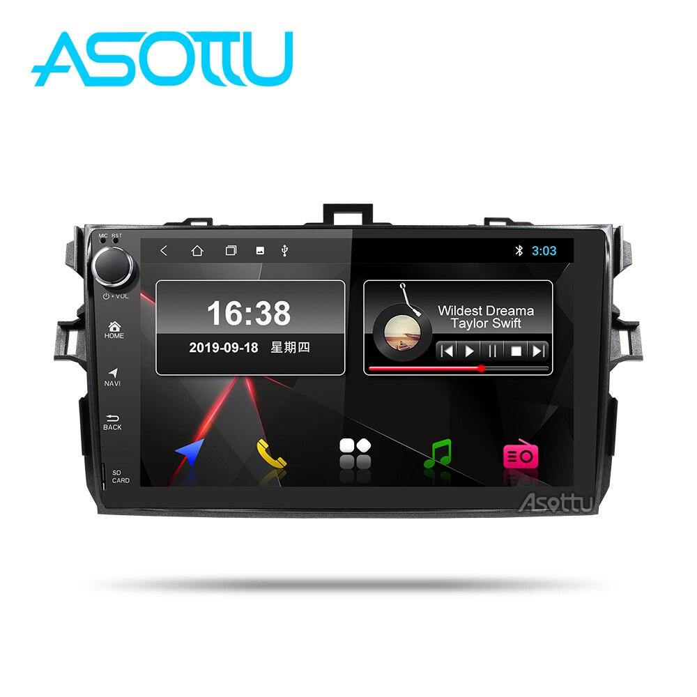 Asottu to306 android 9.0 px30 carro dvd gpsfor toyota corolla e140 e150 2007 2008 2009 2010 2011 2013 carro dvd rádio gps estéreo