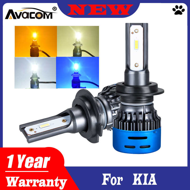 Avacom 2 предмета H7 H4 светодиодный фар автомобиля лампы 1860 6500K 12000K 4300K 3000K 12V АВТО Дневные ходовые огни, противотуманная фара для Mazda 3/6/CX5/323/B2200/MPV Субару Outback