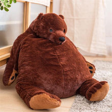 Mr.Boss Stuffed Animal Giant Teddy Bear Plush Doll Pillow Soft Cushion Kids Birthday Christmas Gift Big Bear Plush Toy