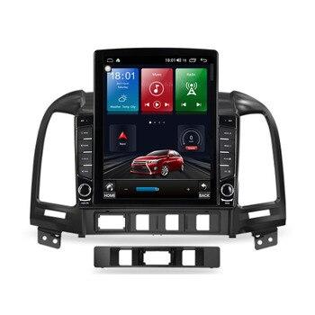 """Reproductor Multimedia de vídeo y navegación GPS RDS de 9,7 """"con Android 10,1 para Hyundai SANTA FE 2005 - 2012 Tesla, con Radio para coche, SIN dvd"""