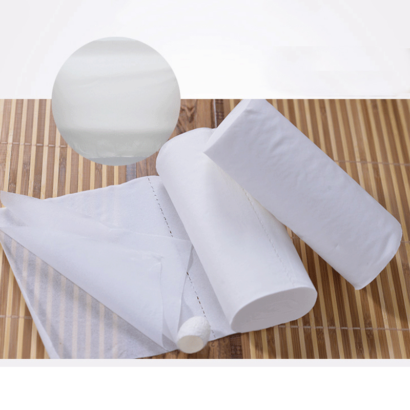 12 Rolls Toilet Paper Bulk Rolls 3 Ply Bath Tissue Bathroom White Soft Papers