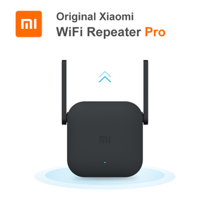 Image 1 - Original Xiaomi WiFi Router Repeater Pro 300Mbps Wifi Amplifier Network Expander Router Power Extender Roteador 2 Antenna