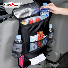 Car Seat Organizer Insulation Seat Back Bag Oxford Storage Car Seat Back Storage Bag Trunk Organizer    Auto Accesorios Interior car trunk organizer backseat storage bag high capacity multi use oxford cloth car seat back organizers box interior accessories