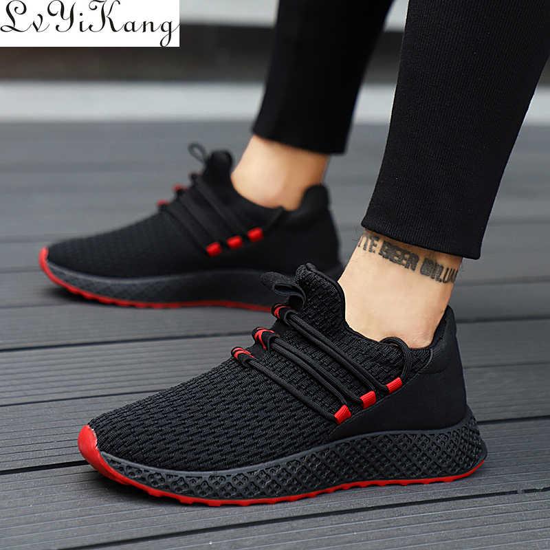 Erkekler Vulkanize Ayakkabı Erkek Ayakkabı Yetişkin Nefes Konfor Erkekler rahat ayakkabılar Moda erkek ayakkabısı Hot Men Sneakers Zapatillas Deportiva
