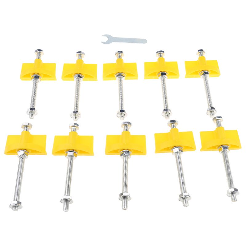 10pcs Tile Locator Wall Tiles Regulator Height Adjustment Positioner Leveler