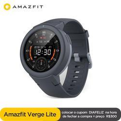 En stock, reloj inteligente Global Amazfit Verge Lite IP68, reloj inteligente GPS GLONASS, batería de larga duración, Pantalla AMOLED para Android iOS