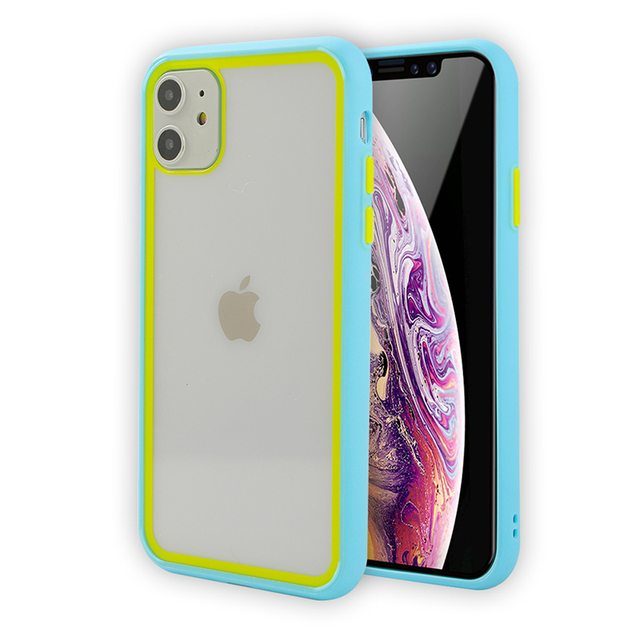 Shockproof Soft Silicone Phone Cases For iPhone 11 Pro X XR XS MAX 7 8  Plus 11 Case Cover Transparent Protection Back Cover