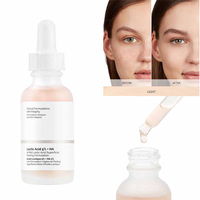 30ml Ordinary Latic Acid 5% + HA Face Serum Hyaluronic Acid Brightening Exfloliating Relieving Deep cleaning Hydrating Skin Care 1