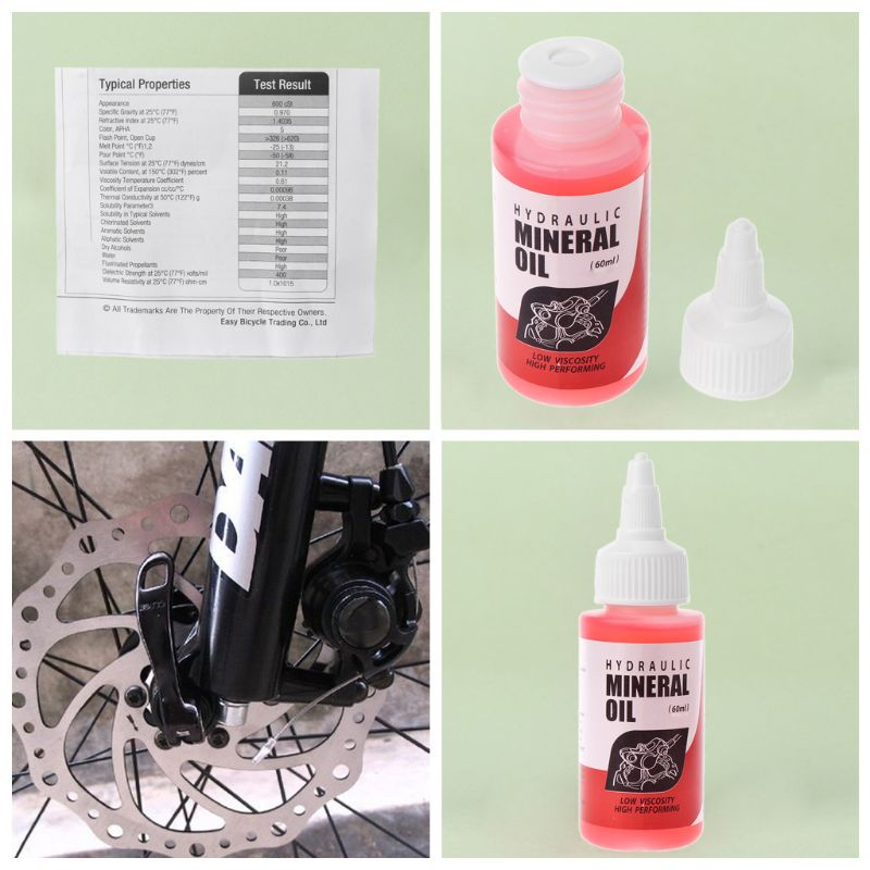 Купить с кэшбэком Bicycle Brake Mineral Oil System 60ml Fluid Cycling Mountain Bikes For Shimano Dropship