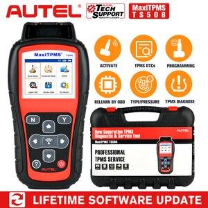Image 1 - Autel maxitpms TS508 tpmsタイヤ圧力センサ活性化プログラムツールscanne