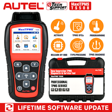 Autel sensores de presión de neumáticos MaxiTPMS TS508 TPMS, herramienta de programa activada, Scanne