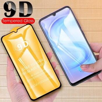 Перейти на Алиэкспресс и купить 9D полное покрытие экрана протектор стекло для Vivo iQOO 3 Neo Neo3 Z1 Pro 5G VIVO U10 U20 Закаленное стекло Защитная пленка