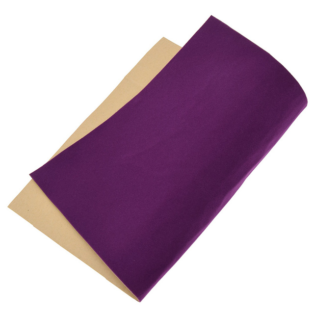 A4 Soft Surface Self-Adhesive Velvet Fabric DIY Patchwork Quilting Shoes Gloves Clothing Decoration Accessory 4