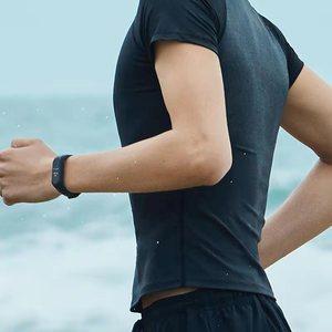 "Image 5 - في المخزون الأصلي شاومي Mi الفرقة 4 الذكية Miband 4 0.95 ""AMOLED شاشة مقاوم للماء معدل ضربات القلب اللياقة البدنية 135mAh بلوتوث 5.0 50 ATM"