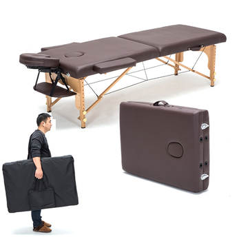 Folding Beauty Massage bed Massage Portable Household Wooden bed Acupuncture Beauty Bed Physiotherapy Tattoo Bed  186*60 CM - DISCOUNT ITEM  30% OFF All Category