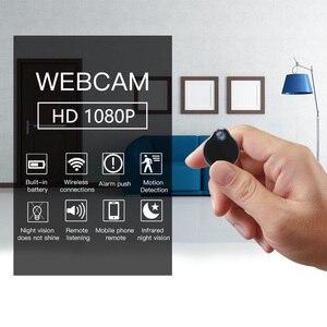 Image 3 - WiFi ミニカメラウェアラブル小さなカムフル 1080 1080p 赤外線ナイトバージョンセキュリティビデオカメラビデオカメラ用屋内ホームセキュリティ