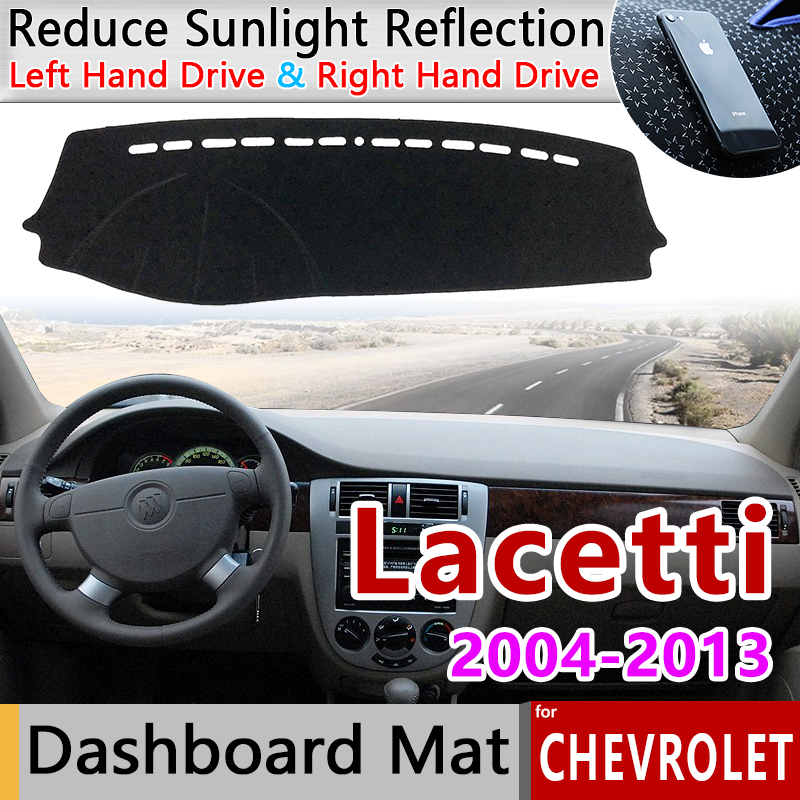 Slip Mat Dashboard Cover Pad Accessories for Chevrolet Lacetti Optra Daewoo Nubira Suzuki Forenza Holden Viva 2002 2003 2004(China)