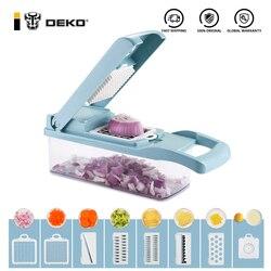 DEKO – coupe-fruits et légumes multifonctionnel, éplucheur de pommes de terre, filtre blanc, accessoires de cuisine avec panier de vidange