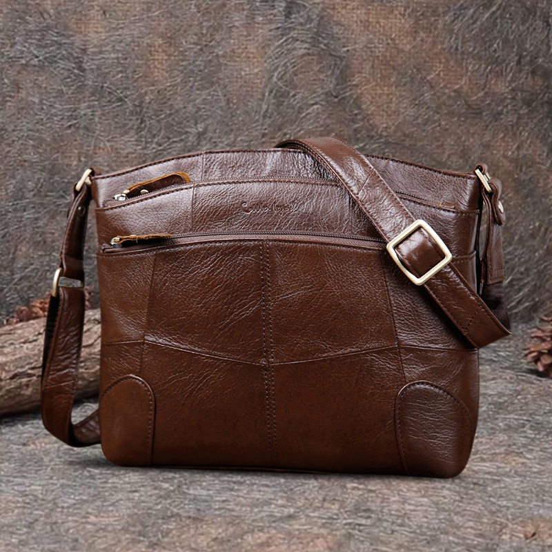Cobbler Legend Genuine Leather Bags For Women Large Capacity Brand Shoulder Bag Ladies Crossbody Bags 2019 New Handbag Female