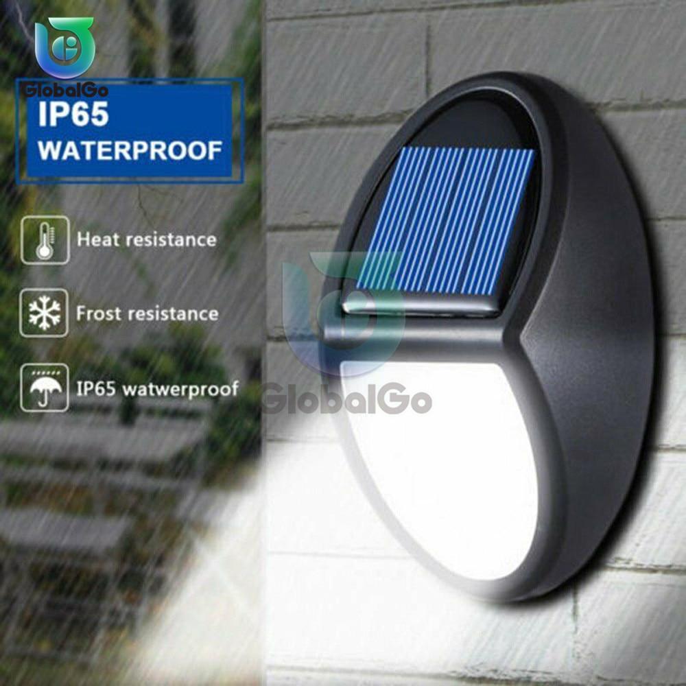 10 LED Solar Light Outdoor Solar Lamp Smart Sensor Wall Light Waterproof Solar Powered Sunlight For Pool Garden Decoration