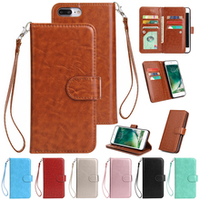 For iPhone X XS Max XR Wallet Card Leather Luxury Case Flip Cover For iPhone 7 8 Plus 6 6s Plus 5 5s SE Phone Bag цена и фото