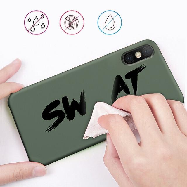 Liquid Silicone Case For Xiaomi Mi Note 10 Pro 9 SE 9T Pro A3 A2 Lite Slim Soft Cover For Xiaomi Redmi Note 9s 8 Pro 7 8T 8A 10T 3