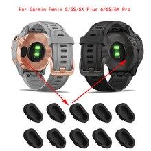 Зарядное устройство заглушка разъема Кепки протектор чехол для наручных gps-часов Garmin Fenix 5X/5S/5X Plus/6/6S/6 электронных сигарет, Современная замен...