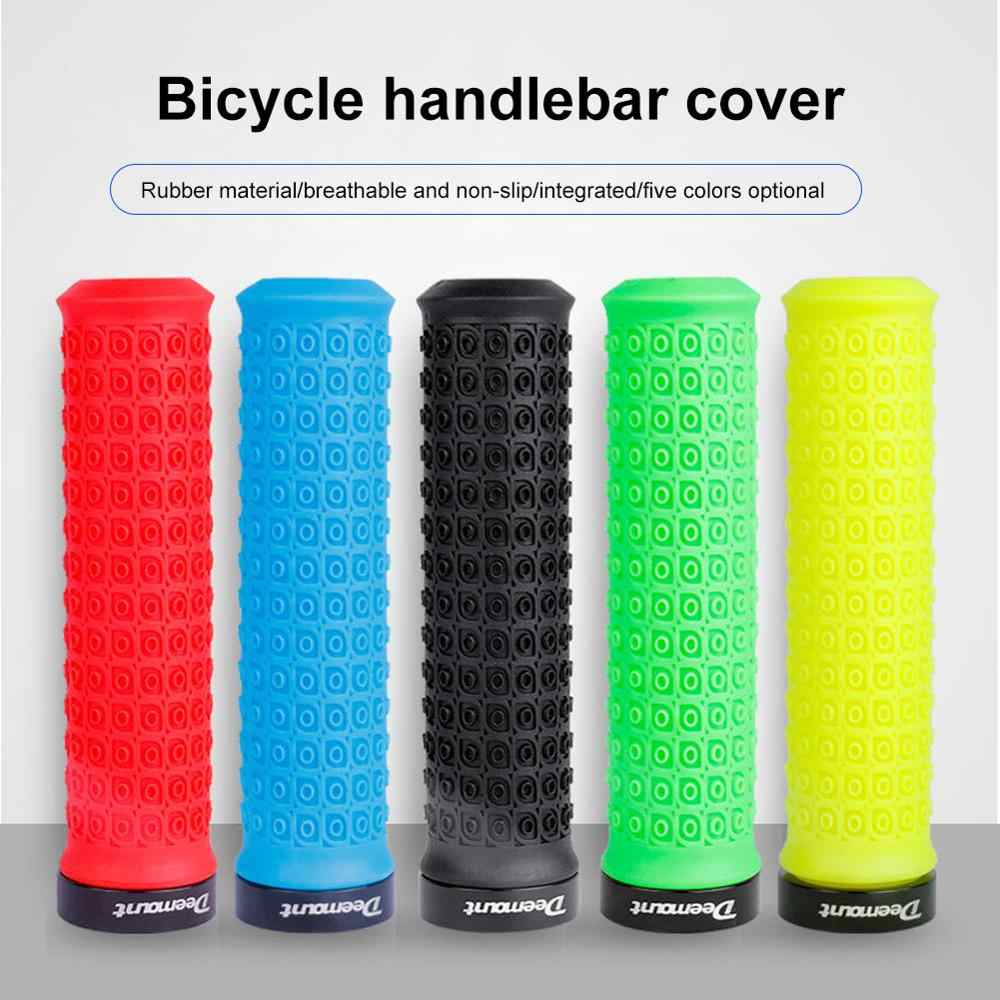 1 Pair Soft  Handlebar Grips For MTB Road Mountain Bike Single Clamps Anti-skid