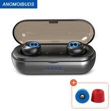 Anomoibuds אלחוטי אוזניות AAC TWS אלחוטי אוזניות אלחוטי Bluetooth headsrt V5.0 ספורט Entertainme bluetooth אוזניות