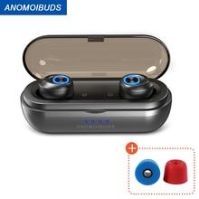 Anomoibuds Wireless Headphones AAC TWS Wireless earphones  wireless Bluetooth headsrt V5.0 Sport Entertainme  bluetooth earphone