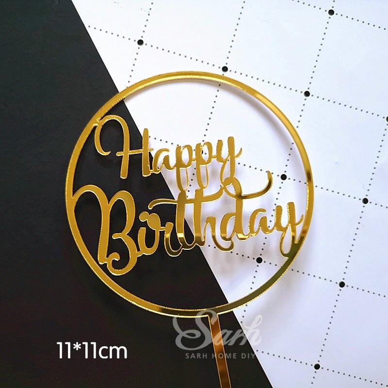 2pc birthday topper