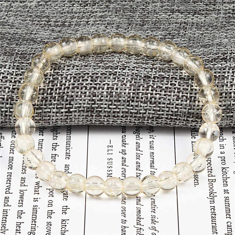 Grânulos de charme pulseira pedra pulseiras & bangle handmade para as mulheres dos homens jóia de cristal rosa roxo colorido pulso acessórios amor
