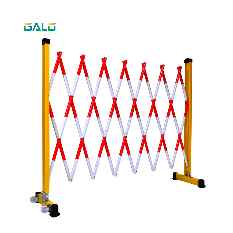 Wholesale Outside Temporary Parking Retractable Scissor Fence Crowd Control Safety Traffic Folding Extension Barrier Isolation