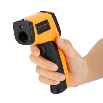 Affichage LCD Sans Contact IR Laser Infrarouge Numérique Compteur De Température Capteur Thermomètre Appareil De Soins Personnels Partie