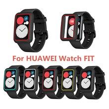 Чехол для часов Fit чехол умные часы покрытие аксессуары TPU бампер универсальный экран протектор часы Fit 2020 чехол
