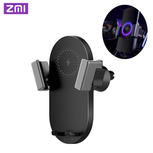 2019 New ZMI Wireless Car Charger 20W Electric Auto Pinch Qi Quick Charging Mi for 9 iphone X XS