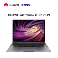 Original HUAWEI MateBook X Pro 2019 Laptop 13.9 inches GeForce MX250 i5 8265U 8GB LPDDR3 processor 3K touch Screen Notebook