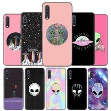 סיליקון Case כיסוי עבור Samsung Galaxy A50 A80 A70 A40 A30 A20 A20e A10 A51 A71 A11 A21 הערה 8 9 10 בתוספת 5G Alien מאמין UFO