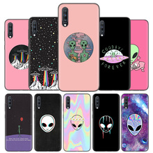Silicone Case Cover Voor Samsung Galaxy A50 A80 A70 A40 A30 A20 A20e A10 A51 A71 A11 A21 Note 8 9 10 Plus 5G Alien Geloven Ufo