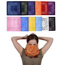 цена на HANDKERCHIEF New Double-Sided Printing Men's And Women's Turban Scarf Double Sided12 pcs носовые платки носовые платки поло