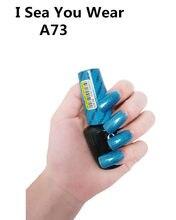 A73 I deniz sizin giyim 15ml UV LED jel cila Vernis kalıcı kalıcı parlaklık balsamik Nail Art (gerek lamba kuru)