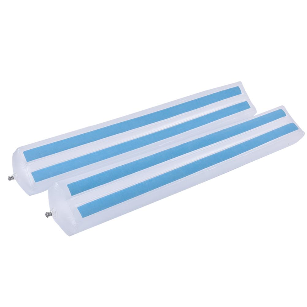 2PCS Safety Non Slip Bed Rails Bumpers For Toddlers Inflatable Water Resistant Bed Guardrail Crib Rail For Baby Home Travel