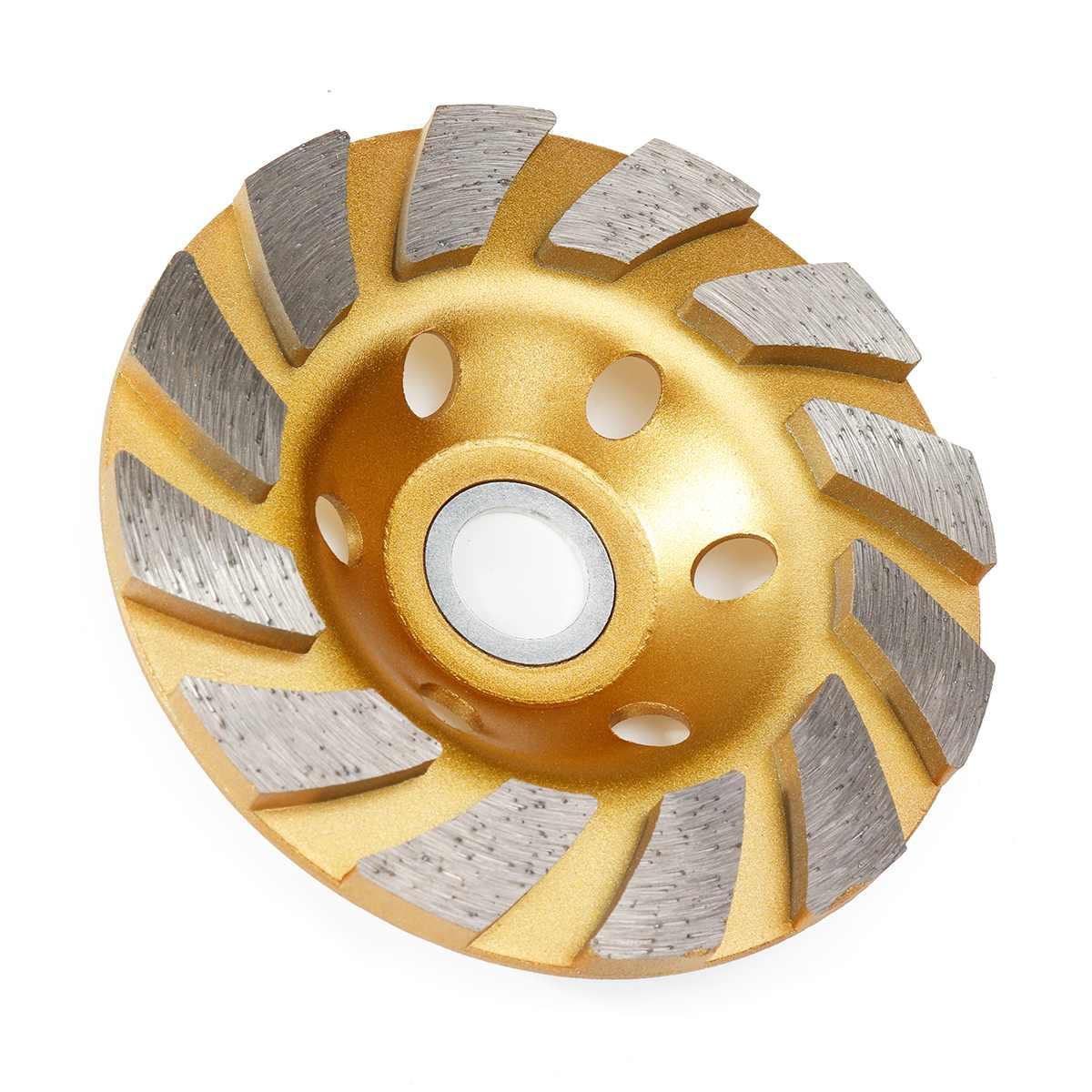 Прочный 5 Тип 4 дюйма 100 мм Алмазный шлифовальный диск шлифовка в форме чаши чашка бетонный гранитный камень Керамика инструменты
