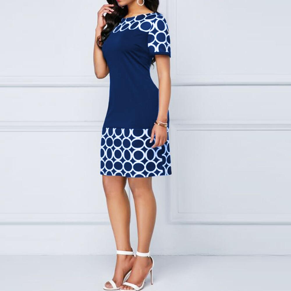 Elegant Sexy Geometric Print Casual Bodycon Dresses