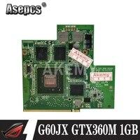 Asepcs alta qualidade para For Asus g60jx placa gráfica vga N11E-GS1-A3 gts360m gtx 360 m 1 gb 100% testado navio rápido
